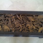 Carved Japanese Coffee Table