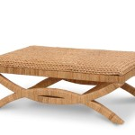 Cozy Seagrass Coffee Table