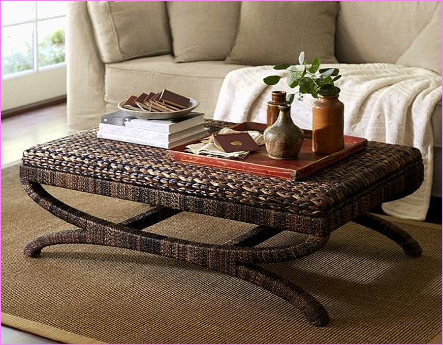 Dark Seagrass Coffee Table