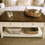 Elegant Farmhouse Coffee Table
