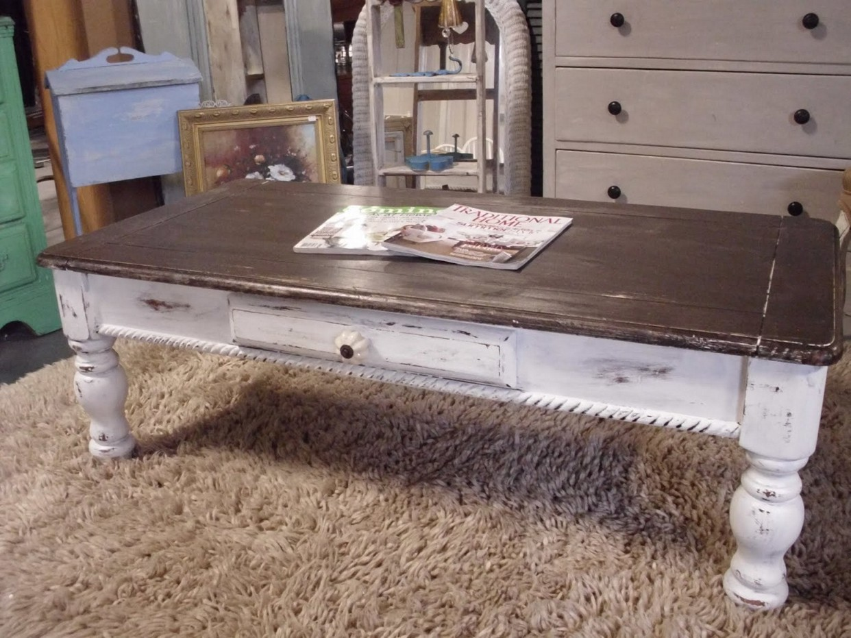 Industrial Farmhouse Coffee Table