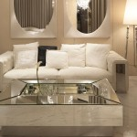 Marble And Glass Luxury Coffee Table