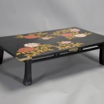 Painted Japanese Coffee Table
