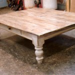 Pine Farmhouse Coffee Table