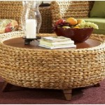 Round Seagrass Coffee Table