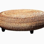 Seagrass Coffee Table With Legs