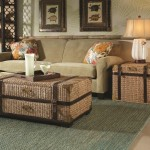 Seagrass Coffee Table With Storage