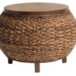 Small Seagrass Coffee Table